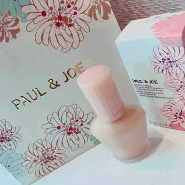 PAUL & JOE モイスチュアライジング ファンデーション プライマー S