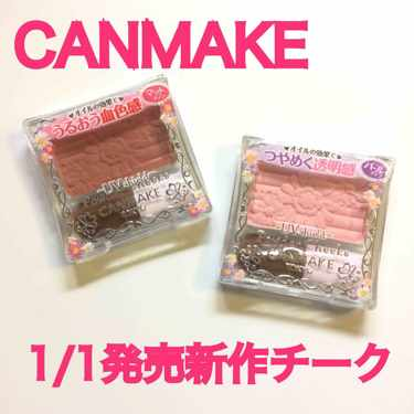 CANMAKE パウダーチークス