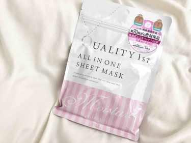 Quality 1st. オールインワンシートマスク モイスト