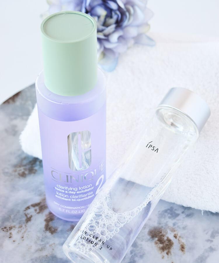 CLINIQUE 化粧水 クラリファイングローション IPSA 化粧水 スキンクリアアップローション2