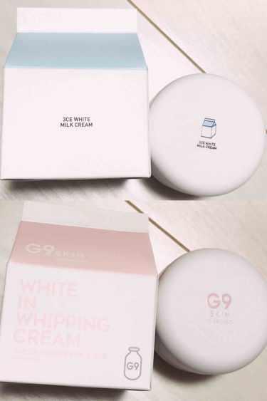 3CE ホワイトミルククッション