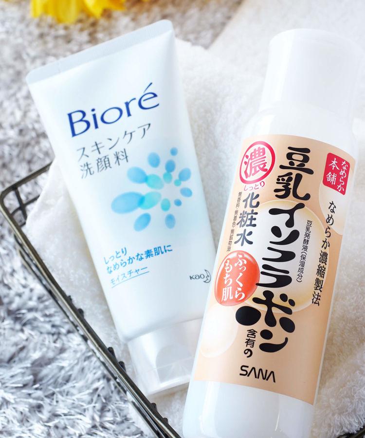 Biore 洗顔料 スキンケア洗顔料 モイスチャー なめらか本舗 乳液・クリーム 乳液 NA なめらか本舗 化粧水 化粧水 NA