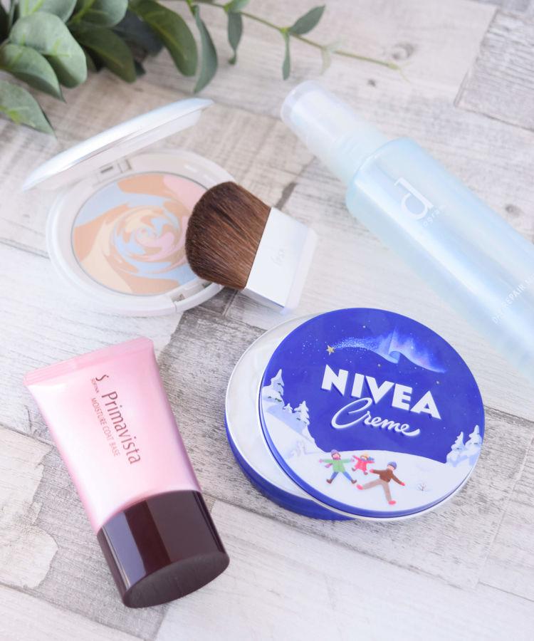NIVEA ボディケア ニベアクリーム dプログラム 化粧水 デーリペアミスト IPSA ルース・フェイスパウダー コントロールパウダー Primavista 化粧下地 カサつき粉ふき防止化粧下地