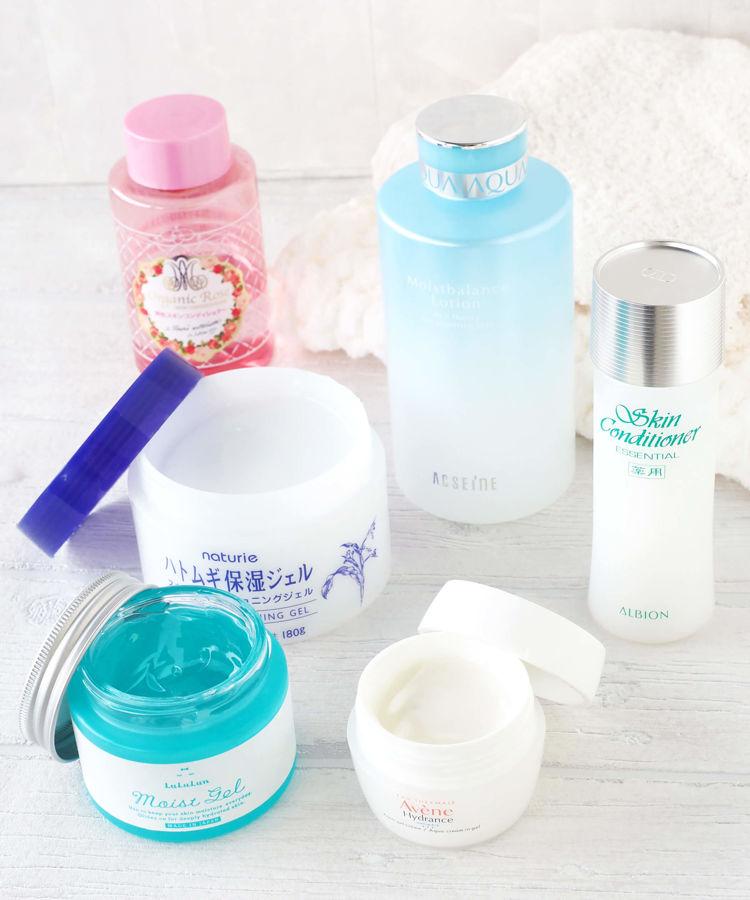 敏感肌でも使える、明色化粧品、アルビオン、アクセーヌ、アベンヌ、ルルルン、ナチュリエのスキンケアアイテムをご紹介します。