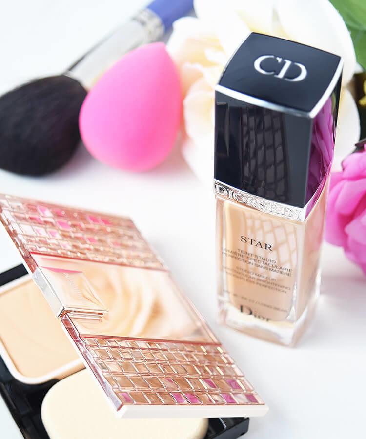 MAQuillAGE ファンデーション ドラマティックパウダリーUV  Dior ファンデーション ディオールスキン スター フルイド