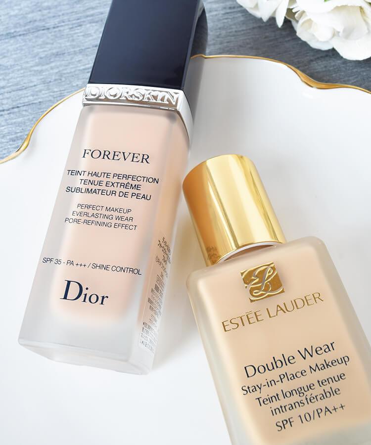 ESTÉE LAUDER ファンデーション ダブル ウェア ステイ イン プレイス メークアップ Dior ファンデーション ディオールスキン フォーエヴァー フルイド
