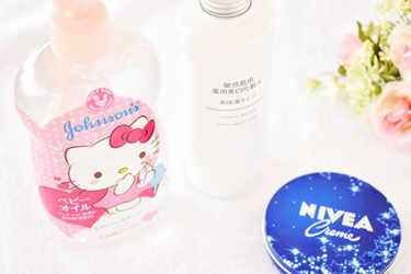 NIVEA ボディケア ニベアクリーム JOHNSON'S® baby ボディケア ベビーオイル MUJI 化粧水 敏感肌用 薬用美白化粧水・高保湿タイプ