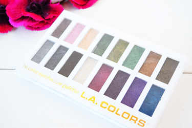 L.A.COLORS アイシャドウ L.A.COLORS 16 COLOR EYESHADOW