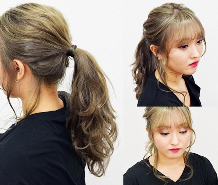 ヘアアレンジは、おくれ毛を出すだけで可愛さUP♡流行りのゆるふわヘアはおくれ毛でさらに可愛く出来るんです!