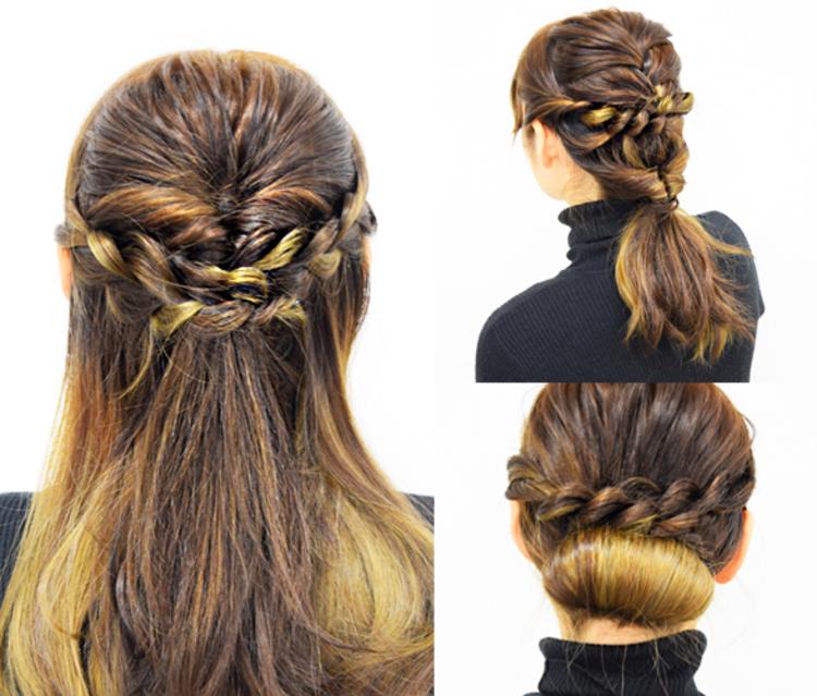 セミロングの簡単かわいいヘアアレンジ3パターン!セミロングは、実は色々なヘアアレンジが楽しめる長さなんですよ♡