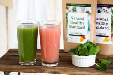 Natural Healthy Standard. インナービューティー ミネラル酵素スムージー
