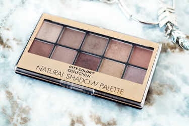 CITY COLOR アイシャドウ NATURAL SHADOW PALETTE