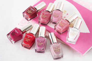 360円で色豊富なキャンメイクのカラフルネイルズ♡ピンク系カラーをイエベ・ブルべのパーソナルカラー別にご紹介♡