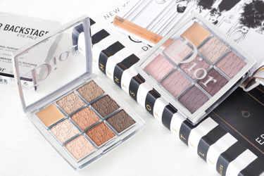 Diorの新シリーズ「DIOR BACKSTAGE」から限定発売された「バックステージ アイ パレット」2色をご紹介!