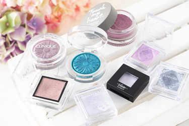紫陽花カラーのアイシャドウ8色をご紹介!クリニーク、エスプリーク、アディクション、ヴィセ、リンメル