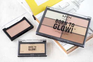 NYX Professional Makeupの新作ハイライター「ボーン トゥー グロー ハイライター」をご紹介!