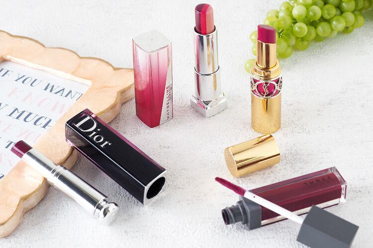 夏こそ使いたいプラムリップ特集!THREE、Dior、イヴ・サンローラン、メイベリン