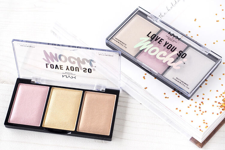 NYX Professional Makeupのハイライト「ラブ ユー ソー モッチ ハイライティング パレット」をご紹介します!