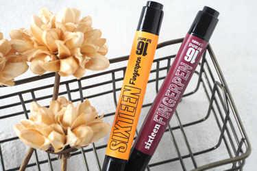 大人気韓国コスメ、16brand(シックスティーン ブランド)のフィンガーペンをご紹介。