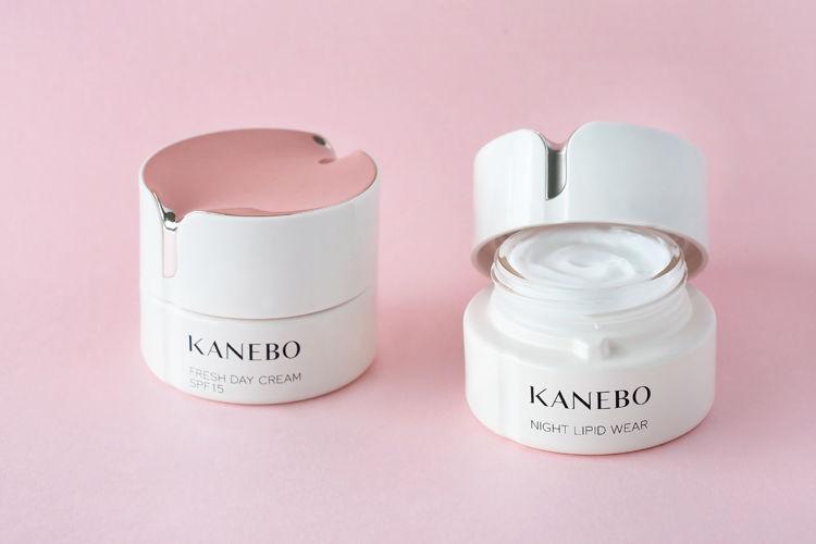 KANEBOの人気クリーム「カネボウ フレッシュ デイ クリーム」と「カネボウ ナイト リピッド ウェア」の紹介です