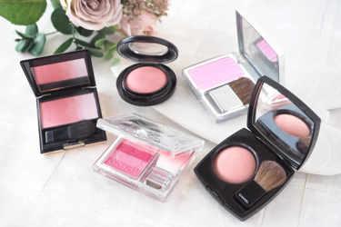 M·A·C、Dior、シャネル、スック、ジルスチュアートのツヤツヤピンクチークをご紹介!