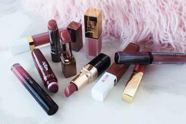ブラウンリップをご紹介。‐セザンヌ、メイベリン ニューヨーク、レブロン、NYX Professional Makeup、to/one、
