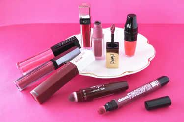 変わった形状のアプリケーターの、リップをご紹介。-Maybelline New York(メイベリン ニューヨーク)、NYX Professional Makeup(ニックス) 、REVLON(レブロン)、6brand(シックスティーンブランド) 、clé de peau Beauté(クレ・ド・ポー ボーテ)、GIVENCHY(ジバンシイ)、Yves Saint Laurent(イヴ・サンローラン)、Lancôme(ランコム)。