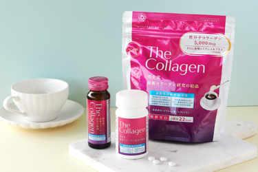 資生堂 / The Collagen(ザ・コラーゲン)から『ザ・コラーゲン〈ドリンク〉W』をご紹介!