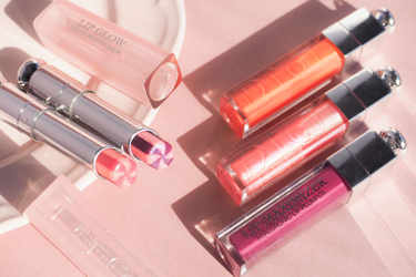 ディオールの新作リップ「アディクト リップ グロウ マックス」×「アディクト リップ マキシマイザー」を組み合わせるのが可愛いんです♡- Dior