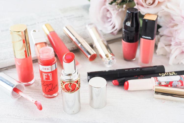 イエベ春向け☆コーラル系リップをご紹介!-OPERA(オペラ)、CEZANNE(セザンヌ)、exceL(エクセル)、DHC(ディーエイチシー)、NYX Professional Makeup(ニックス)、BEAUTY MINES(ビューティーマインズ)、Yves Saint Laurent(イヴ・サンローラン)、Dior(ディオール)、CHANEL(シャネル)、LANCOME(ランコム)、JILL STUART(ジルスチュアート)、KATE(ケイト)、CANMAKE(キャンメイク)