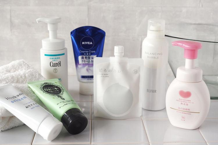 毛穴ケアにおすすめ!口コミ評価の高い洗顔料と洗顔方法