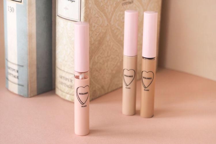 WHOMEE(フーミー)「コンシーラー」に、パッと肌に明るさをプラスしてくれるふんわりピンクカラーが新登場!