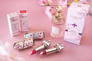 2月1日(土)限定発売!Guerlain(ゲラン)2020春「チェリーブロッサム コレクション」!美しく可憐な桜模様が施されたリップや香水をご紹介!