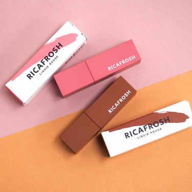 2020年8月11日新色登場!古川優香さんプロデュース「RICAFROSH(リカフロッシュ)」のマスクでも落ちないと人気のリップ「ジューシーリブティント」の新色&既存色含む全色スウォッチをご紹介!