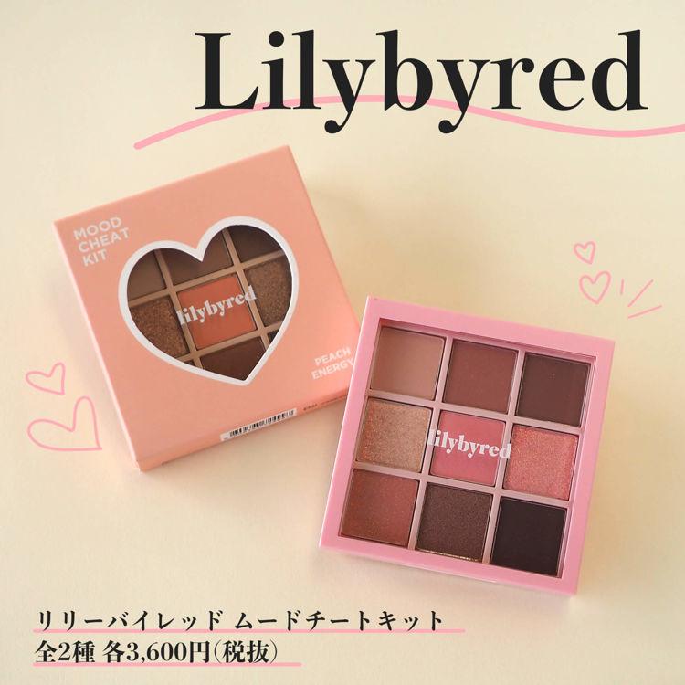 Lilybyred(リリーバイレッド)「ムードチートキット」でワントーンアイメイクを楽しもう!全2種をスウォッチ&ご紹介!