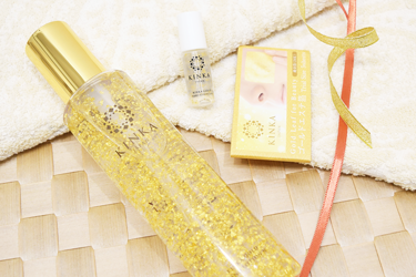 KINKA 化粧水 金華ゴールド ナノローション N KINKA 美容液 金華エステ箔 おためしセット