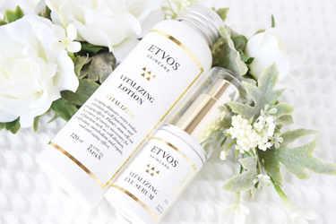 ETVOS 化粧水 バイタライジングローション ETVOS 美容液 バイタライジングアイセラム15g