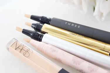THREE コンシーラー アドバンスド スムージング コンシーラー NARS コンシーラー ラディアントクリーミーコンシーラー Dior コンシーラー フィックス イット