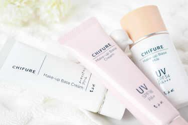 Chifure 化粧下地 メーキャップ ベース ミルク UV Chifure 化粧下地 メーキャップ ベース クリーム UV Chifure 化粧下地 メーキャップベースクリーム