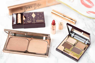 Charlotte Tilbury アイシャドウ The fallen angel luxury eyeshadow palette Charlotte Tilbury 口紅・グロス K.I.S.S.I.N.G. Charlotte Tilbury ブロンザー・ハイライター FILMSTAR BRONZE & GLOW