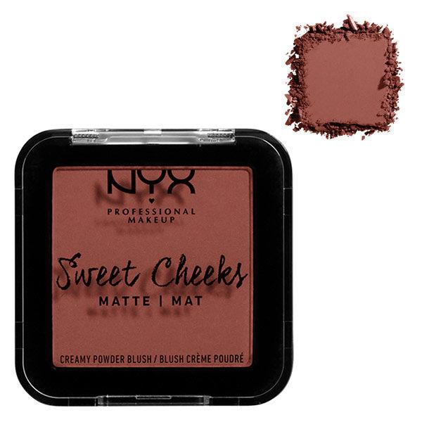 NYX Professional Makeup スウィートチークス クリーミー パウダーブラッシュ イン マット