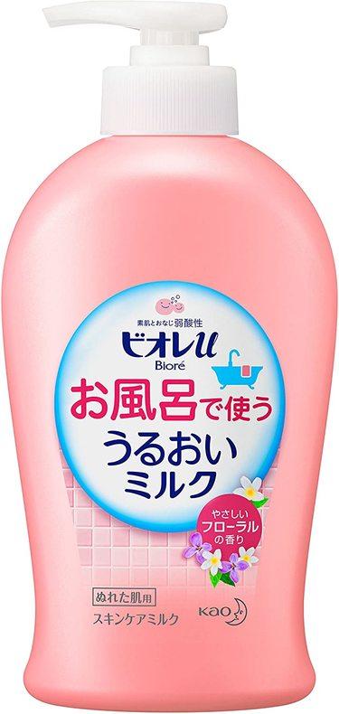 お風呂で使ううるおいミルク