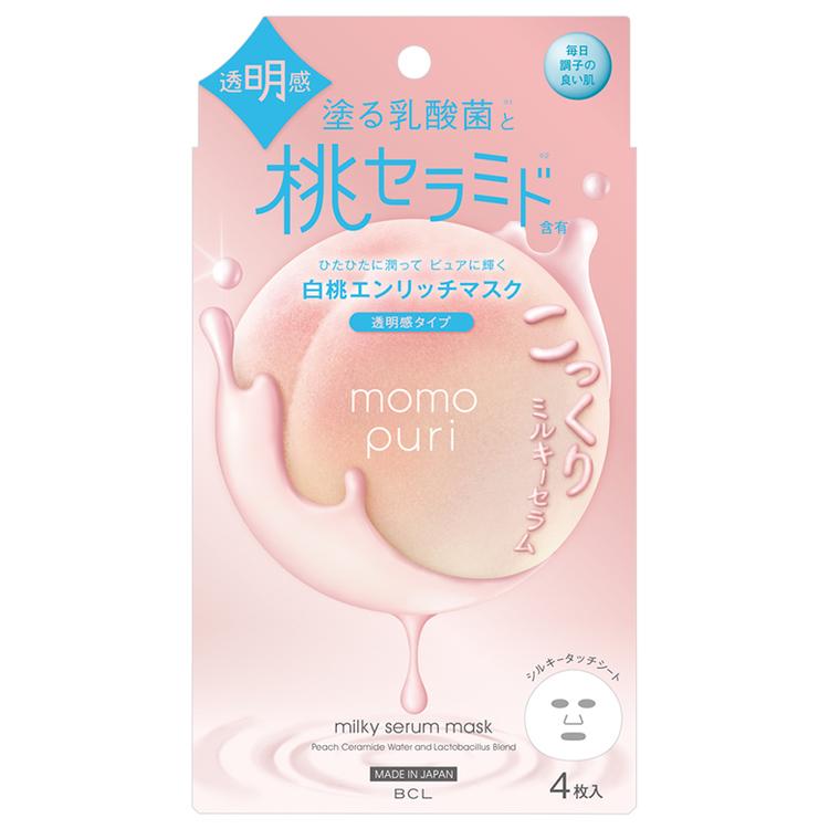 momopuri エンリッチクリアマスク