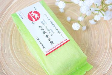 もち肌洗い袋(緑茶)
