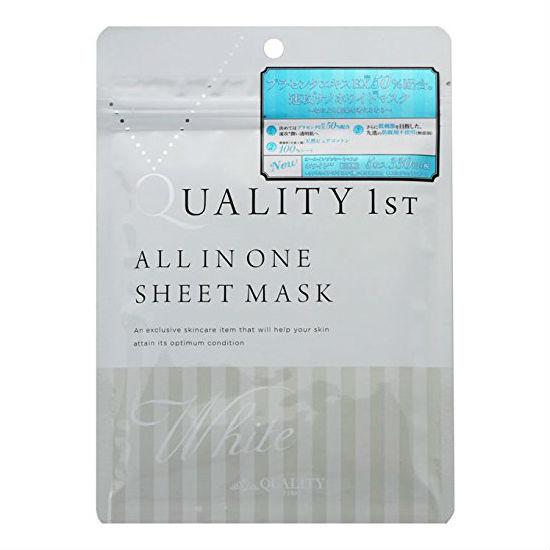 Quality 1st. オールインワンシートマスク ホワイト
