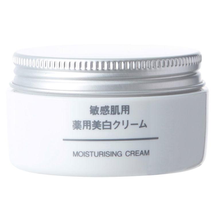 MUJI 敏感肌用薬用美白クリーム