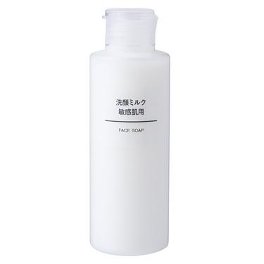 洗顔ミルク・敏感肌用