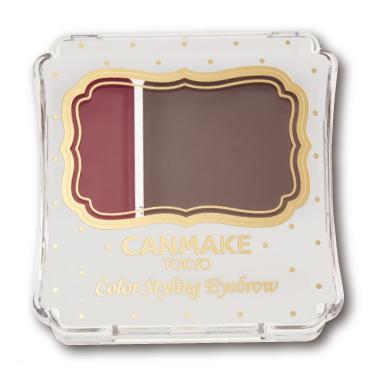 CANMAKE カラースタイリングアイブロウ 01 ボルトーブラウン