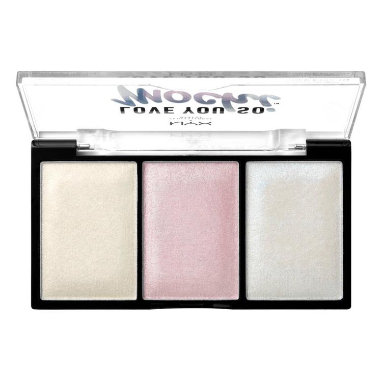 NYX Professional Makeup ラブ ユー ソー モッチ ハイライティング パレット 02 カラー ・ アーケード グラム