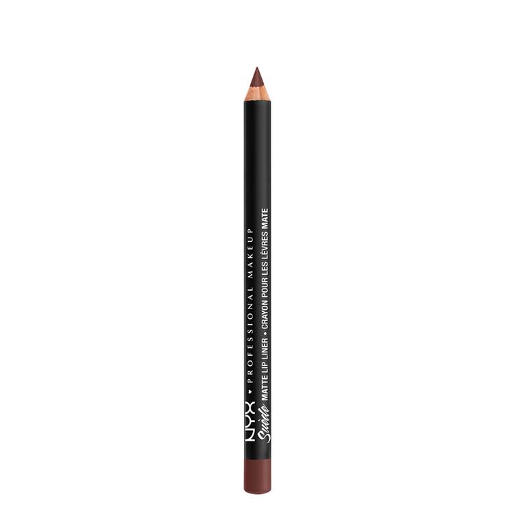 NYX Professional Makeup スエード マット リップライナー A 55 カラー・ コールド ブリュウ